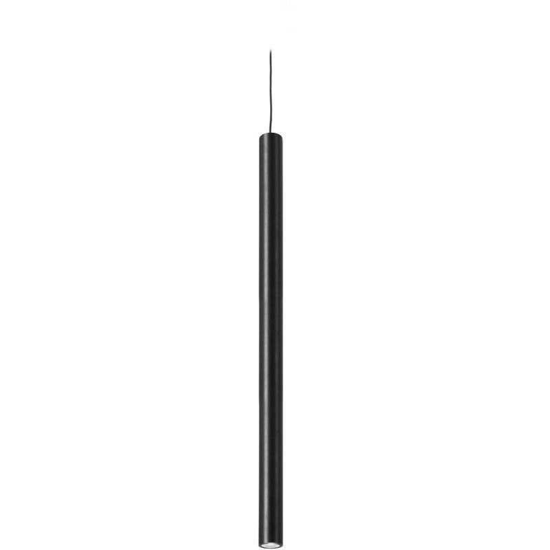 05-leds C4 - 60 cm Pendelleuchte Stylus, Aluminium, schwarz