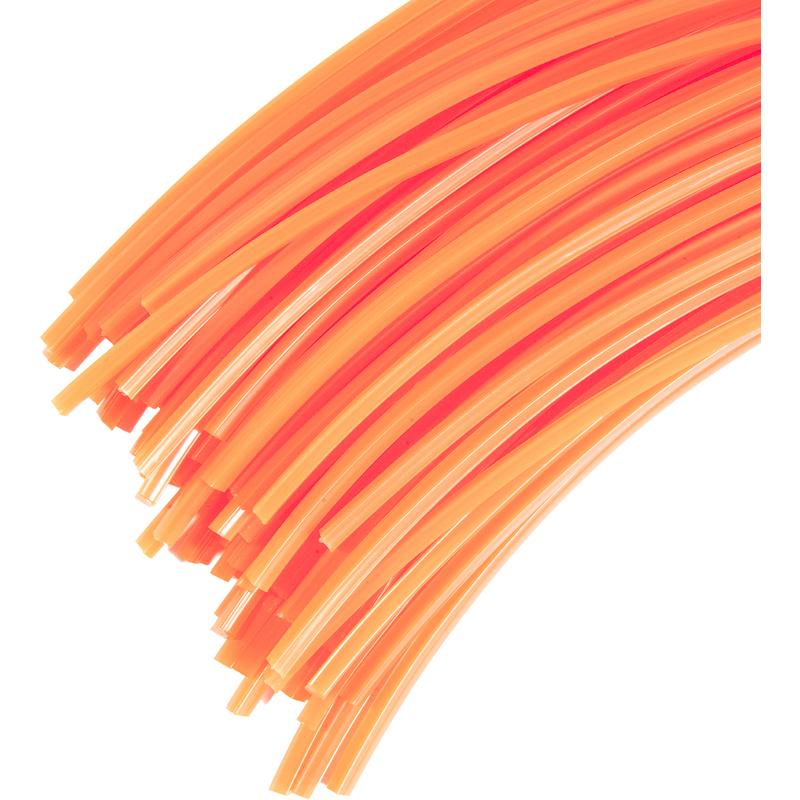 Bobina de hilo profesional para desbrozadora redondo 4/mm x 72/metros