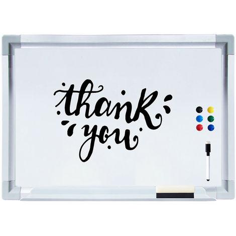 60 x 40 cm magnetic board whiteboard memoboard writing board pinboard