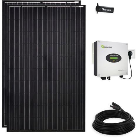 600 Watt Solar Photovoltaik PV Plug & Play Mini-Solaranlage für die Steckdose