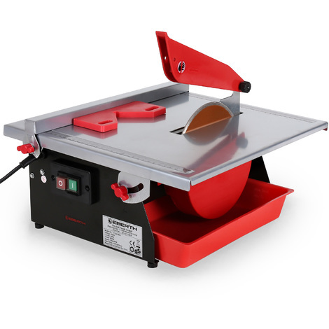 600 Watts Electric Tile Cutter (180 mm Diamond Cutting Disc, Swivelling up to 45°, Parallel Guide)