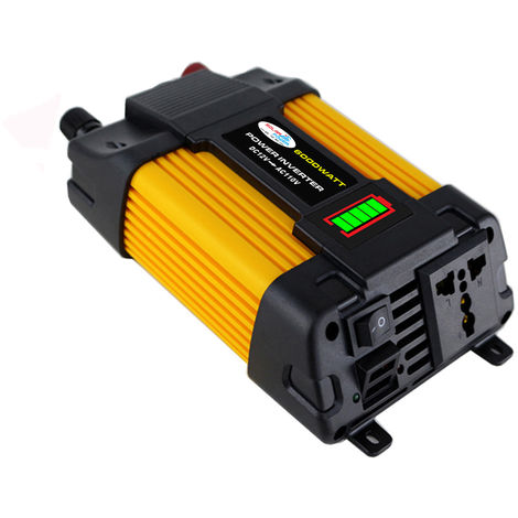 6000W Peaks Power 12V DC to 220V AC Solar Car Inverter