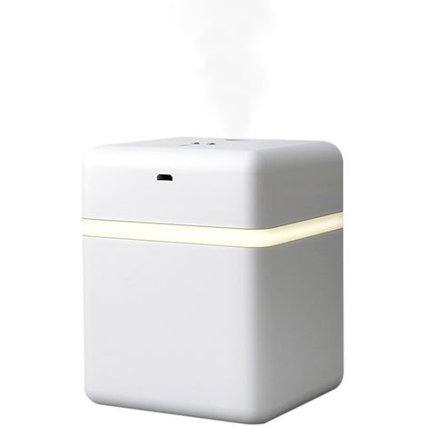 600mL Intelligent Induction with LED Light Quiet Alcohol Sterilization Humidifier Desktop Mist Humidifier