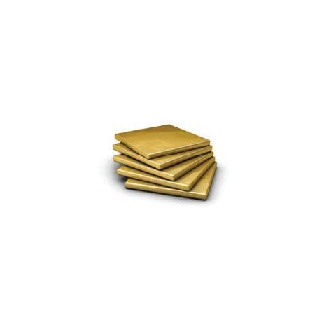 600mm x 300mm Brass Sheet
