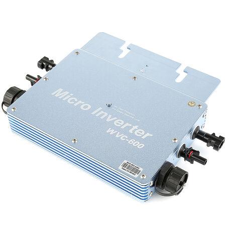 600W Inversor solares | WVC Grid Tie DC20V~45V zu AC230V 50-60Hz Wechselrichter MPPT EU wasserdicht