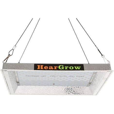 600W LED crece luces del panel LED Full Spectrum crece la planta creciente luz Lamparas de invernadero hidroponico flor de la planta cubierta del crecimiento vegetativo con control remoto