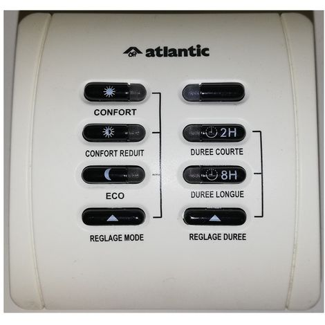 602.004 Atlantic wall Steuerung Heizung Pilotdraht
