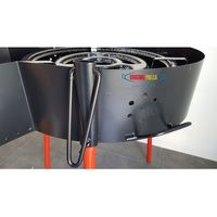 60cm 3-in-1 Open Fire Enclosure, Windshield and BBQ for use with Paella Pans