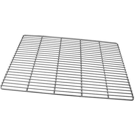 60CM gril en acier inoxydable grille carrée gril en fonte carrée BBQ grille carrée