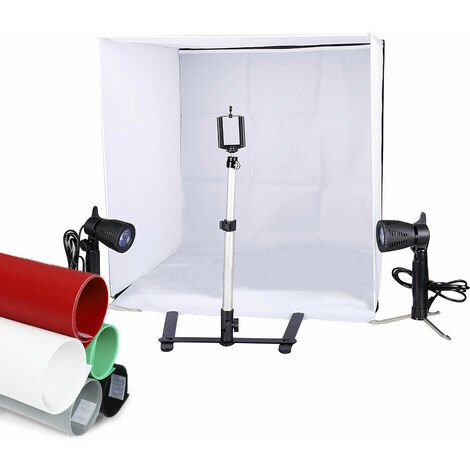 60CM Portable Photography Lighting Tent Kit Light Camera Photo Studio Mini Box