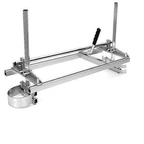 60cm Portable Tron?onneuse Moulin Planches Fraisage 14'' à 24'' Guide Bar Kit LAVENTE