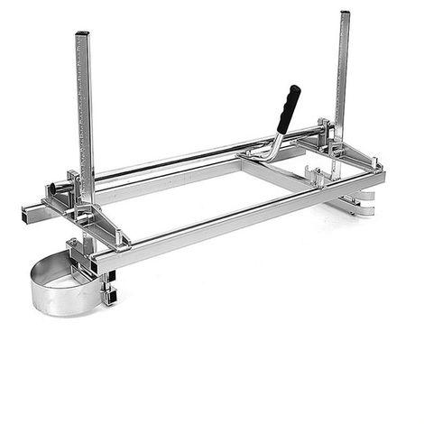 """60cm Scierie mobile gruminette pour tronconneuse Moulin à Scie Planches Fraisage 14"""" à 24"""" avec Guide Bar Kit"""