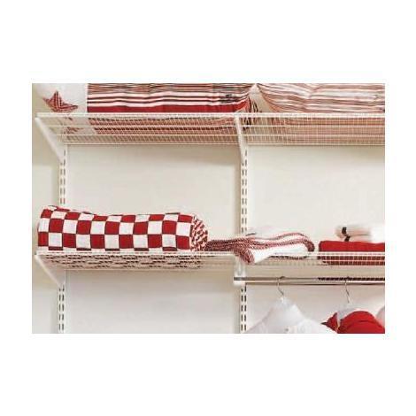 60cm x 40cm Elfa Ventilated Shelf (450310) - White