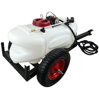 60L ATV Weed Sprayer 1.5M Boom Trailer Spot BOOM Spray Tanks Garden Farm