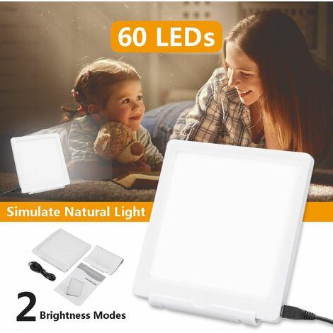 "main image of ""60LEDS 2 Modes Phototherapy SAD Therapy LED Happy Light Seasonal Affective Afforder Lamp WASHED"""