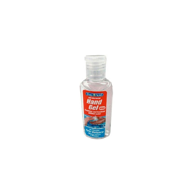 Image of 60ml Hand Sanitiser Anti-Bacteria Hand Gel - FIRST AID