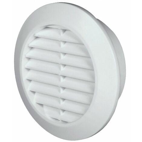 60mm diamètre trou blanc porte ronde air évent grille boiserie meubles