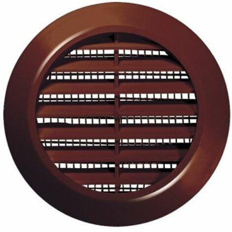60mm diamètre trou brun porte ronde air évent grille boiserie meubles