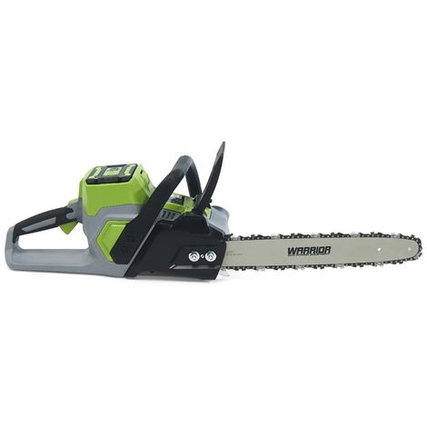 60v Warrior Chainsaw (with or without battery & charger)