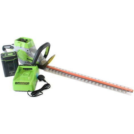 60v Warrior Hedge Trimmer (with or without battery & charger)