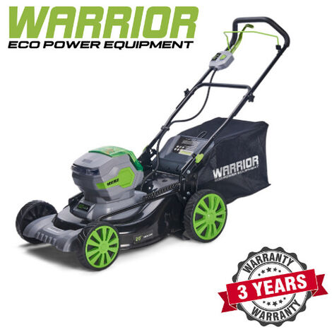 WARRIOR - 60v Warrior Lawn Mower With 2 * Battery And Charger (Self Propelling) - WEP82423M-BC