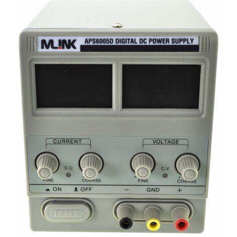 60V,5A Fuente Alimentacion regulable con display digital