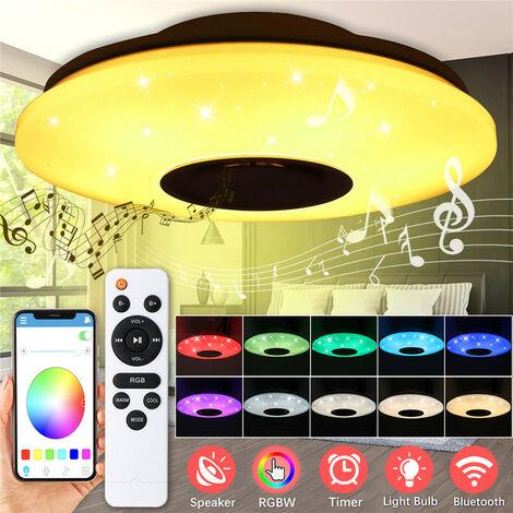 """main image of """"60W RGB 102 LED luz de techo música altavoz bluetooth AC180-240V Mohoo"""""""