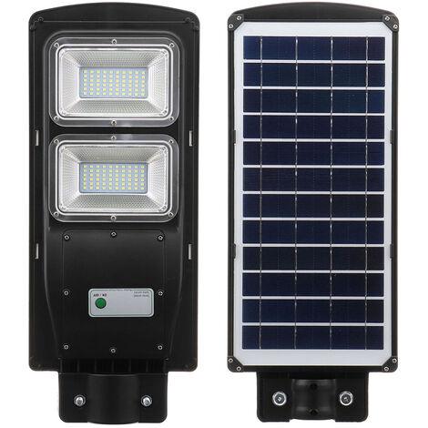 60W Solar Street Light Pir Detector de movimiento Outdoor Garden Path Wall Road Lamp Hasaki