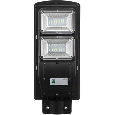 60W Solar Street Light Pir Motion Detector Outdoor Garden Path Wall Road Lamp