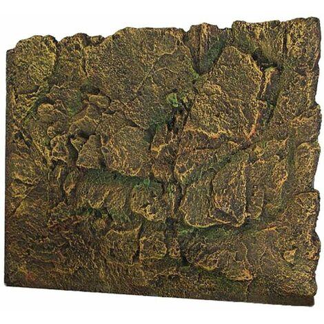 60X45cm 3D Rock Reptile Acuario Espuma Pecera Fondo Natural Look LAVENTE