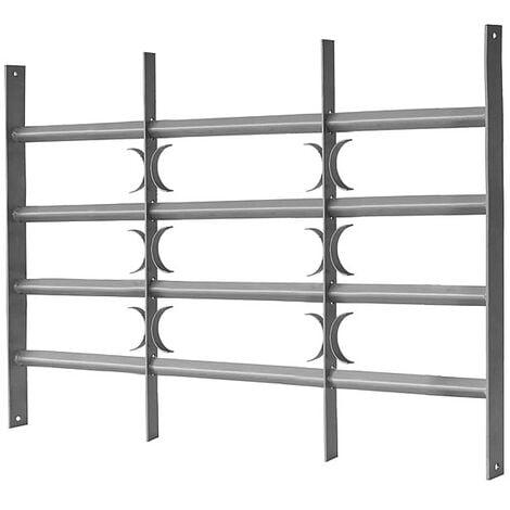 60x50-65cm Balustrade de balcon Balustrade de balcon Balustrade de fenêtre Balustrade en acier Grille de protection Protection anti-effraction