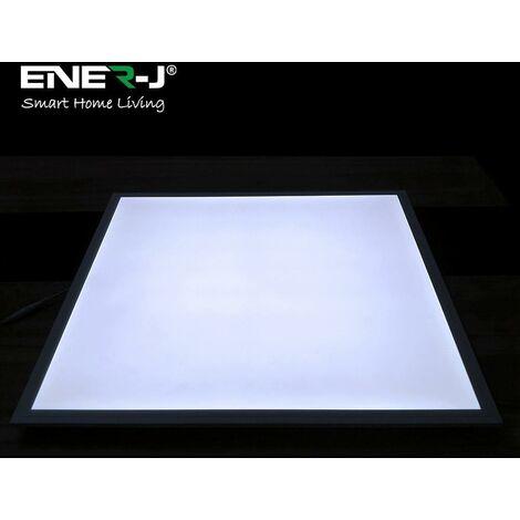 60x60 Slim Backlit Recessed LED Panels, 40W, 3800Lm, 4000K (pack of 2pcs)