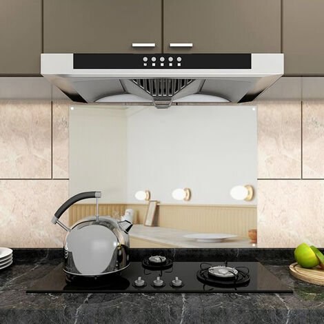 60x95cm Stainless Steel Kitchen Splashback