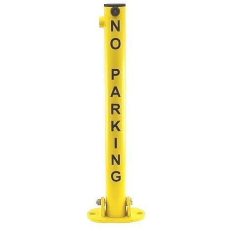 610Y 'No Parking' Fold Down Post (001-0022 K/D, 001-0012 K/A)