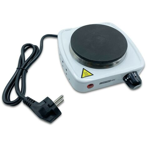 619902 Cocina electr. 1placa Dictrolux hierro fundido 500W temperatura regulable