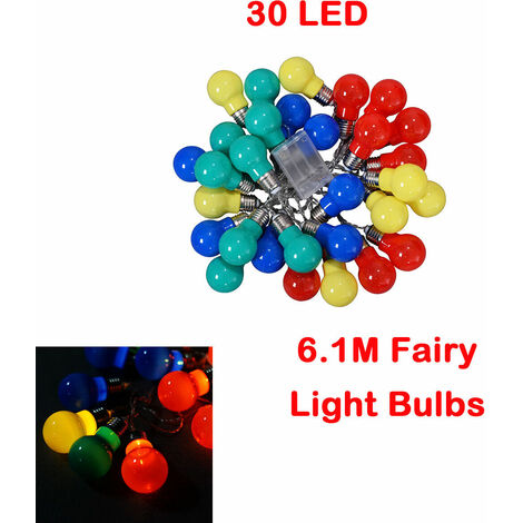 6.1M 30 LED Fairy String Lights Christmas Tree Party Decoration Type 2