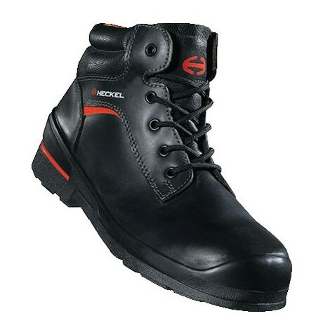 6264002 Heckel Macsole Black Safety Boots