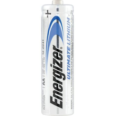 634352 Ultimate AA Lith Batteries (PK-10)