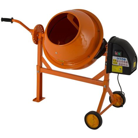 63L Portable Electric Cement Mixer