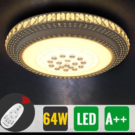 64W Farbwechsel LED Deckenlampe Farbwechsel/Dimmbar+ ...