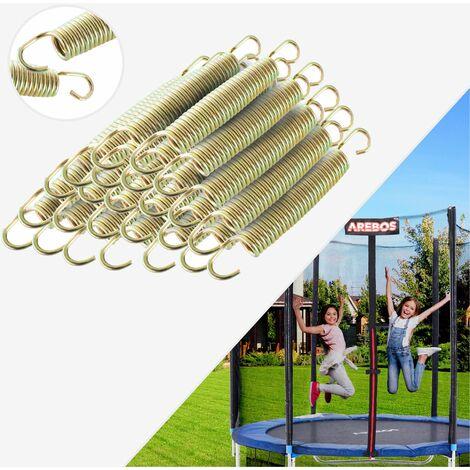 64x Ressort Spirale pour Trampoline 135 mm
