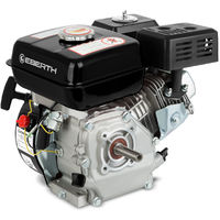 6.5 HP 4.8 kW Petrol Engine (19.05 mm Shaft, Low Oil Protection, Air-cooled Singel Cylinder 4-stroke Engine, Recoil Start) Motor