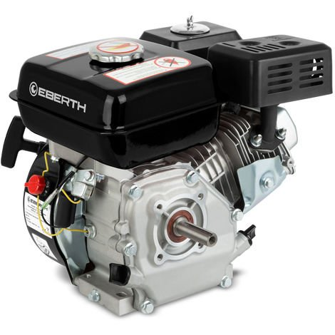 6.5 HP 4.8 kW Petrol Engine (20 mm Shaft, Low Oil Protection, Air-cooled Singel Cylinder 4-stroke Engine, Recoil Start) Motor