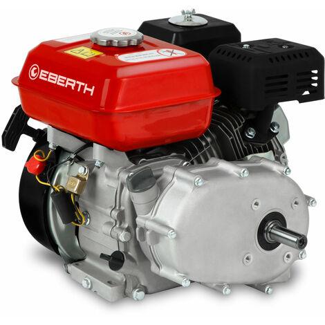 6,5 HP Motor a gasolina con Embrague de baño de aceite (20 mm Eje, Seguridad por falta de aceite, 1 Cilindro, 4 Tiempos, refrigerado por aire, Arranque rectractil)