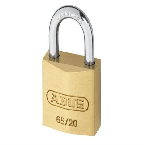 65 Long Shackle Brass Key Padlocks