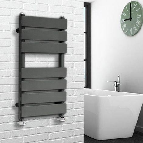 "main image of ""Flat Panel Heated Towel Rail Anthracite"""