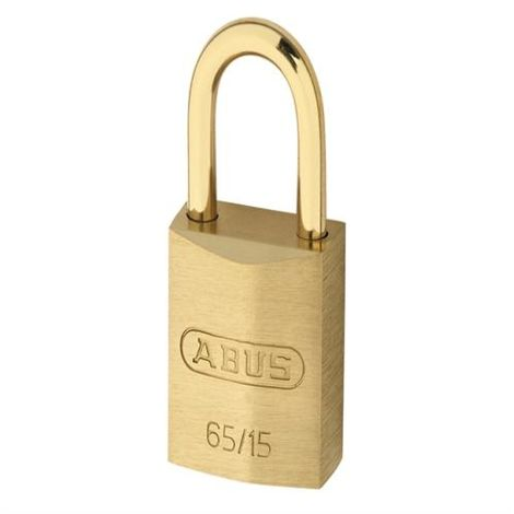 65MB Brass Padlocks & Shackle