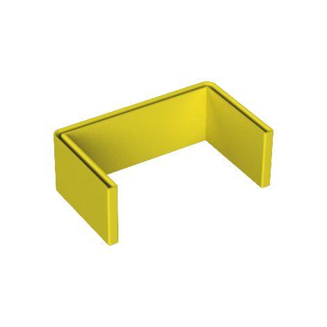66 Protección perfil U amarillo PVC plastificado UNEX 66902