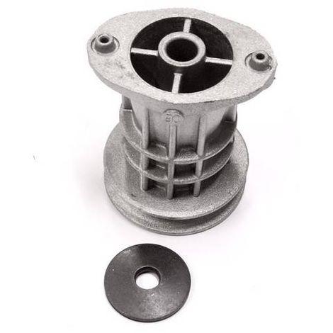 66060131 - Support de lame D. 22,2mm + Rondelle pour tondeuse Oléo-Mac - Efco - Staub ...