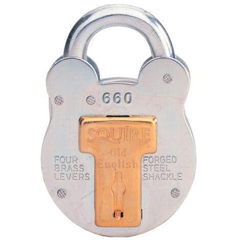 660KA 4-Lever Steel Key Padlocks